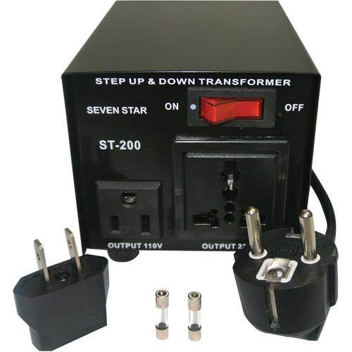 Sevenstar ST-200 Step Up/Step Down Transformer (200W) ST-200 U/D