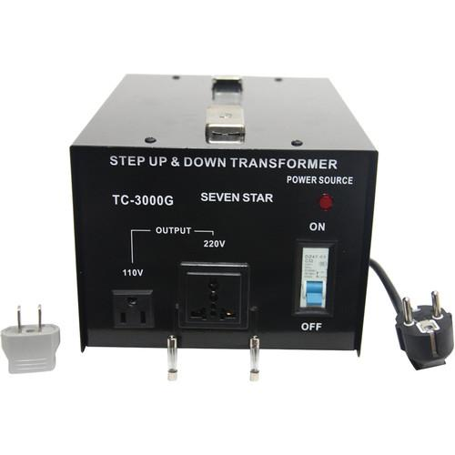 Sevenstar TC-3000 Step Up/Step Down Transformer (3,000W) TC3000