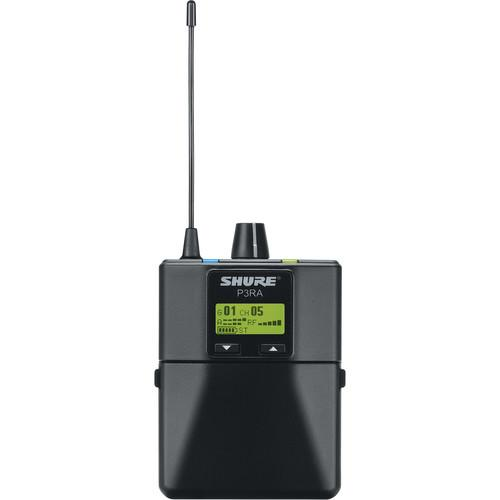 Shure P3RA-J13 Wireless Bodypack Receiver for PSM300 P3RA-J13