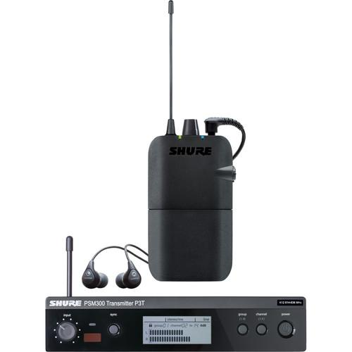 Shure PSM 300 Stereo Personal Monitor System P3TR112GR-G20