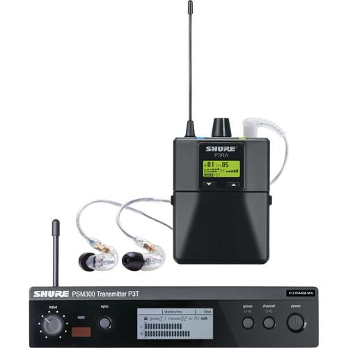 Shure PSM 300 Stereo Personal Monitor System P3TRA215CL-J13