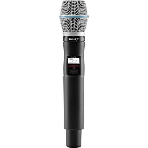 Shure QLXD2/Beta87A Handheld Wireless QLXD2/B87A=-G50