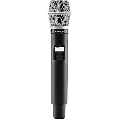 Shure QLXD2/Beta87C Handheld Wireless QLXD2/B87C=-H50