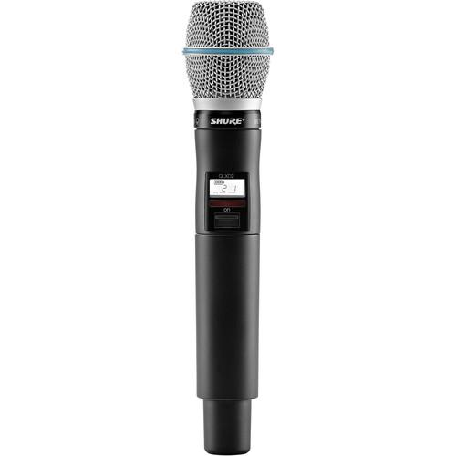 Shure QLXD2/Beta87C Handheld Wireless QLXD2/B87C=-J50