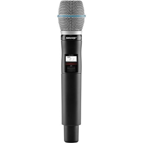 Shure QLXD2/Beta87C Handheld Wireless QLXD2/B87C=-L50