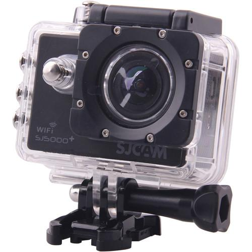 SJCAM SJ5000 Plus HD Action Camera with Wi-Fi (Black) SJ5000PB