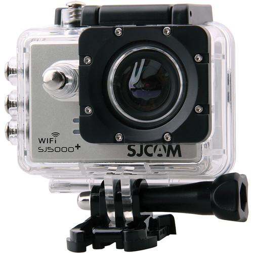 SJCAM SJ5000 Plus HD Action Camera with Wi-Fi (Silver) SJ5000PS