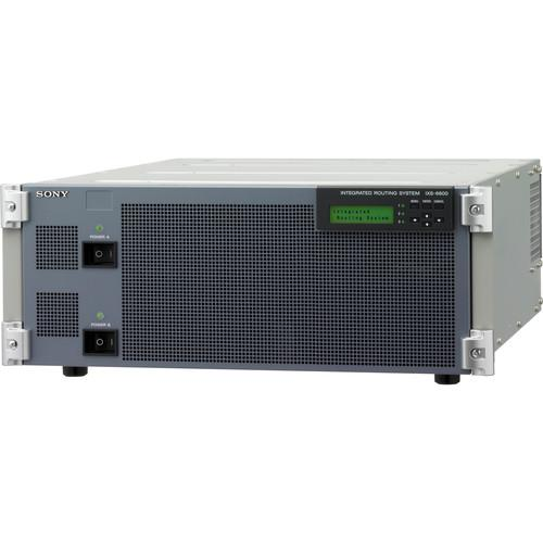 Sony IXS-6600 Integrated Routing System Chassis (4RU) IXS6600