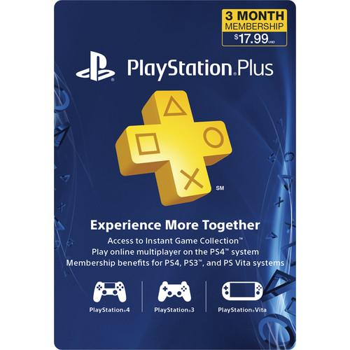 Sony PlayStation Plus Subscription (3-Month) 3000132