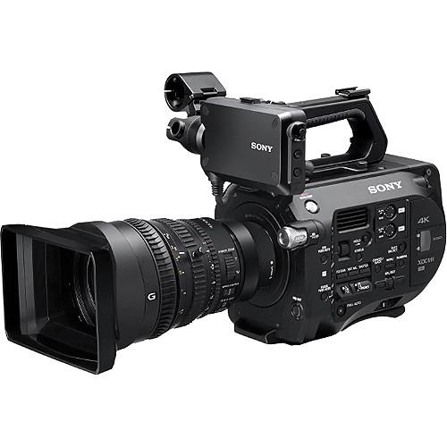 Sony PXW-FS7 4K XDCAM Super35 Camcorder Kit with 28 to PXW-FS7K