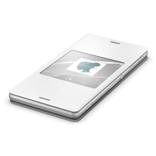 Sony SCR24 Style Cover Window for Xperia Z3 (White) 1289-5800