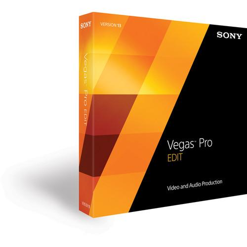 Sony Sony Vegas Pro 13 Edit Upgrade (Boxed) SVPE13004