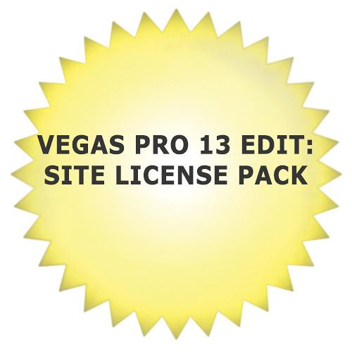 Sony  Sony Vegas Pro 13 (Site License) SVPE130SLP
