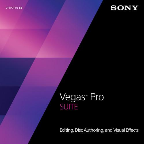Sony Sony Vegas Pro 13 Suite Upgrade from Vegas SVDVDS13095ESD