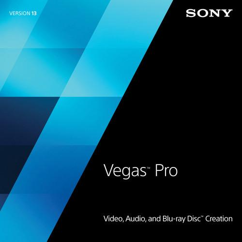 Sony Sony Vegas Pro 13 Upgrade from Vegas Movie SVDVD13095ESD