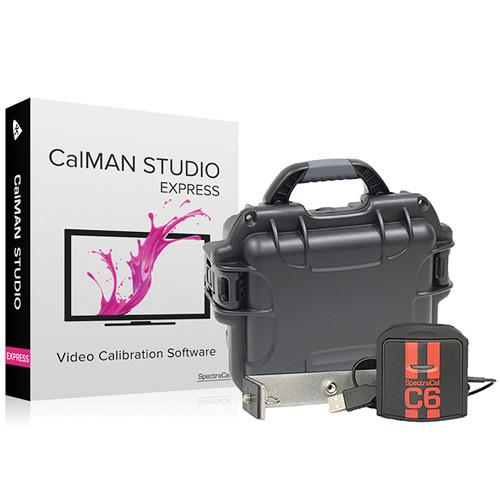 SpectraCal CalMAN Studio EXPRESS with C6 Colorimeter SC-ASMSXC6
