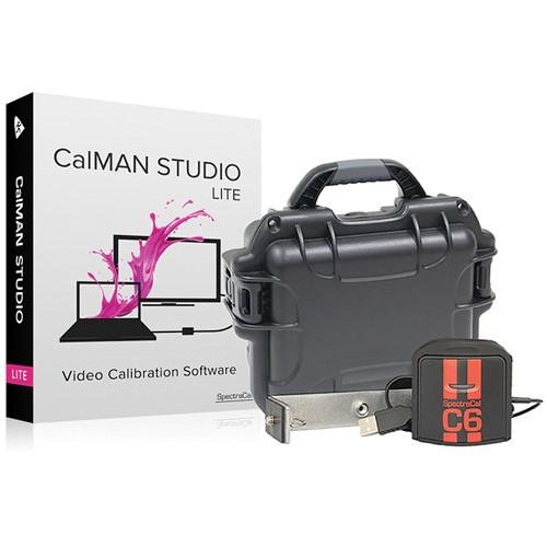 SpectraCal CalMAN Studio Lite with C6 Colorimeter SC-ASMSLC6