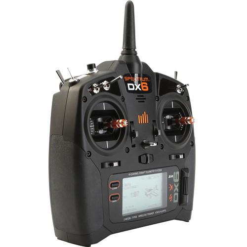 Spektrum DX6 6-Channel DSMX Transmitter for RC Aircraft SPMR6700