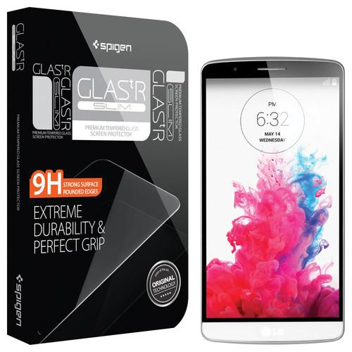 Spigen GLAS.tR SLIM Screen Protector for LG G3 SGP11075
