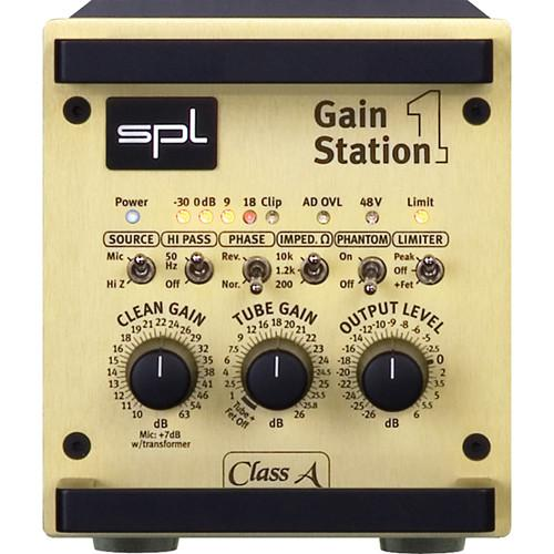 SPL GainStation 1 Single-Channel Mic & SPLGAINSTAT1AD