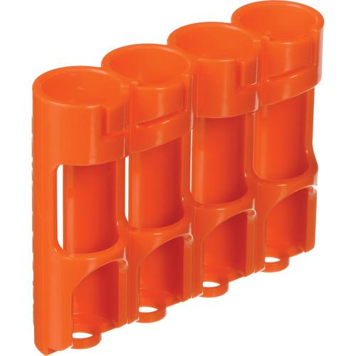 STORACELL SlimLine AA Battery Holder (Orange) SLAAORG