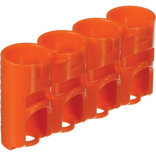 STORACELL SlimLine CR123 Battery Holder (Orange) SLCR123ORG