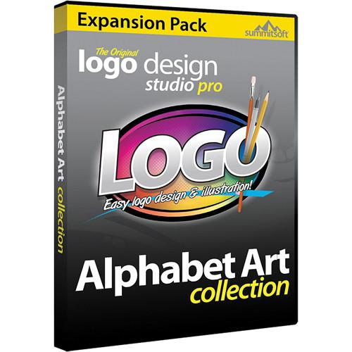 Summitsoft Logo Design Studio Pro Alphabet Art Expansion 00238-7