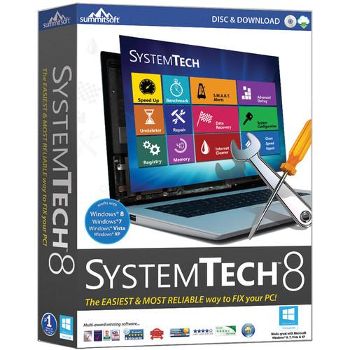 Summitsoft SystemTech 8 (Electronic Download) 00388-9