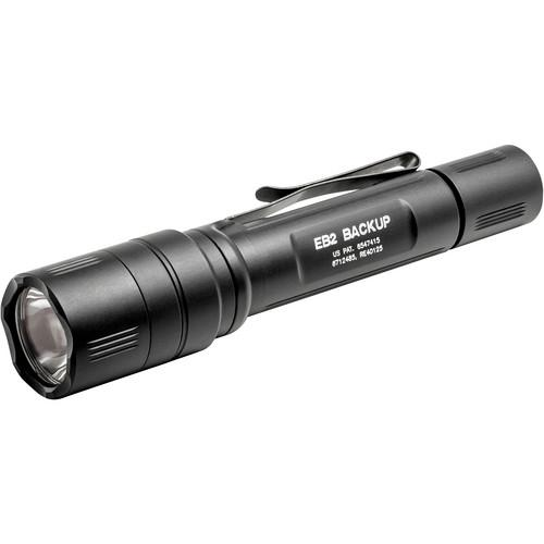 SureFire EB2-C Backup Dual-Output LED Flashlight EB2C-A-BK