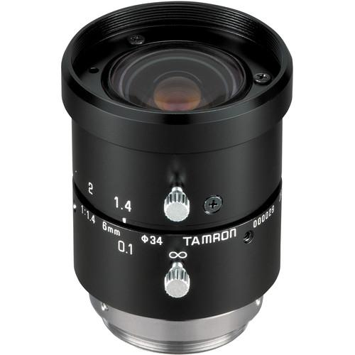 Tamron  C-Mount 6mm Fixed Focal Lens M118FM06