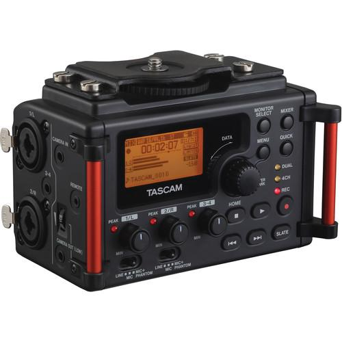 Tascam DR-60DMKII 4-Channel Portable Recorder for DSLR &
