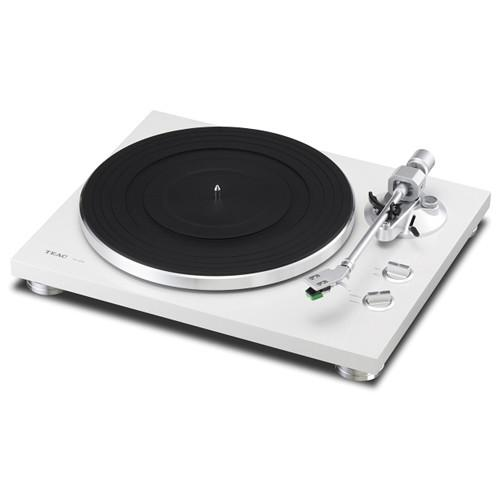 Teac TN-300 Turntable with Phono EQ and USB (White) TN-300-W