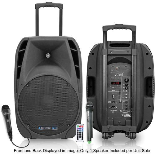 Technical Pro Wave 12 Rechargeable Portable PA System WAVE12