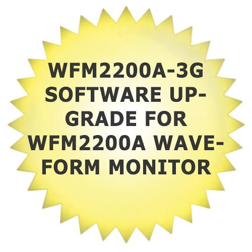 Tektronix WFM2200A-3G Software Upgrade for WFM2200A WFM2200A3G