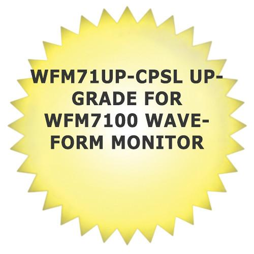 Tektronix WFM71UP-CPSL Upgrade for WFM7100 Waveform WFM71UPCPSL