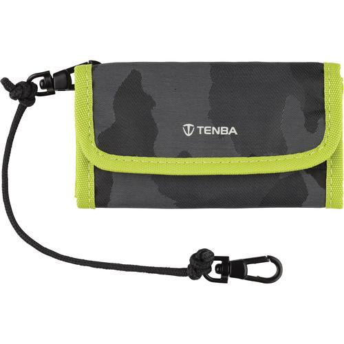 Tenba Reload SD 9 Card Wallet (Camouflage/Lime) 636-218