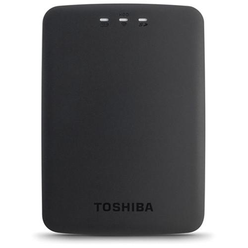 Toshiba 1TB Canvio AeroCast Wireless Portable Hard HDTU110XKWC1
