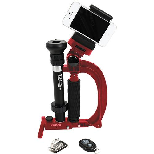 VariZoom StealthyGo Plus Multi-Use Support STEALTHYGO-RED-SK