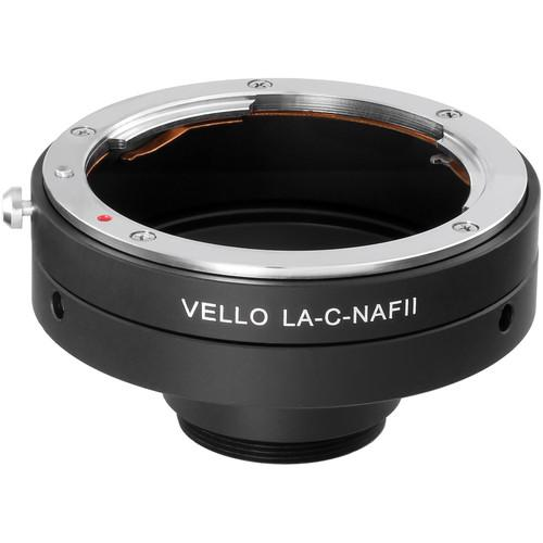 Vello Nikon F Lens to C-Mount Camera Adapter LA-C-NAFII