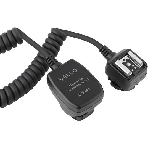 Vello Off-Camera TTL Flash Cord for Olympus/Panasonic OCS-OP3