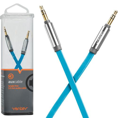 Ventev Innovations  Aux Cable (Blue, 4') 512906