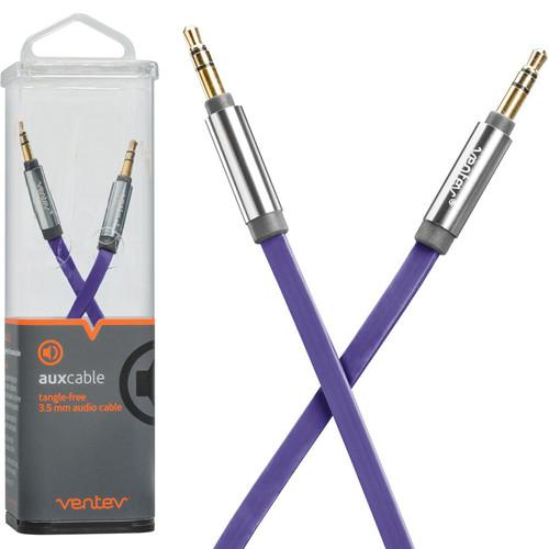 Ventev Innovations Aux Cable (Dark Purple, 4') 542905