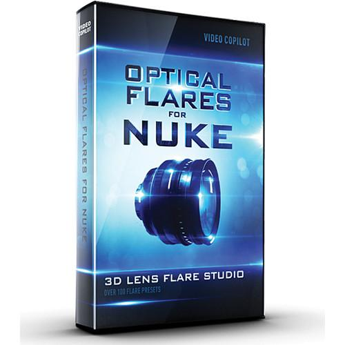 Video Copilot Lens Flares Plugin for Nuke OPTICALFLARESNUKE