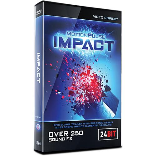 Video Copilot MotionPulse Impact Pack - Impacts, Hits MPIMPACT