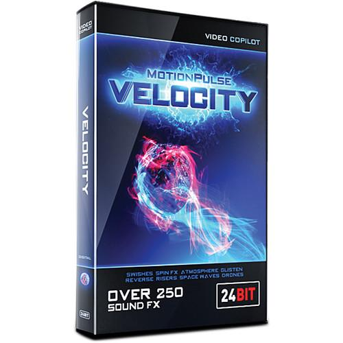 Video Copilot MotionPulse Velocity Pack - Sound MPVELOCITY