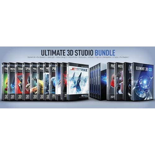 Video Copilot Ultimate 3D Studio Bundle ULTIMATE3DSTUDIOBUNDLE