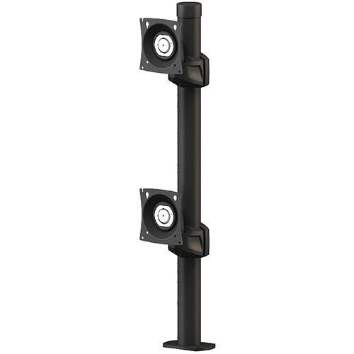 Winsted Prestige Dual Stationary Monitor Mount W5772
