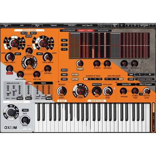 XILS-LAB Oxium - Virtual Synthesizer Plug-In (Download) 11-31253