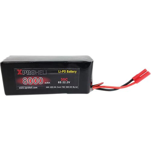 XProHeli 8000 mAh 6S LiPo Flight Battery for XPX Heavy XPH8000