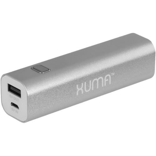 Xuma 2600 mAh Portable Power Pack (Silver) BUB-A26S